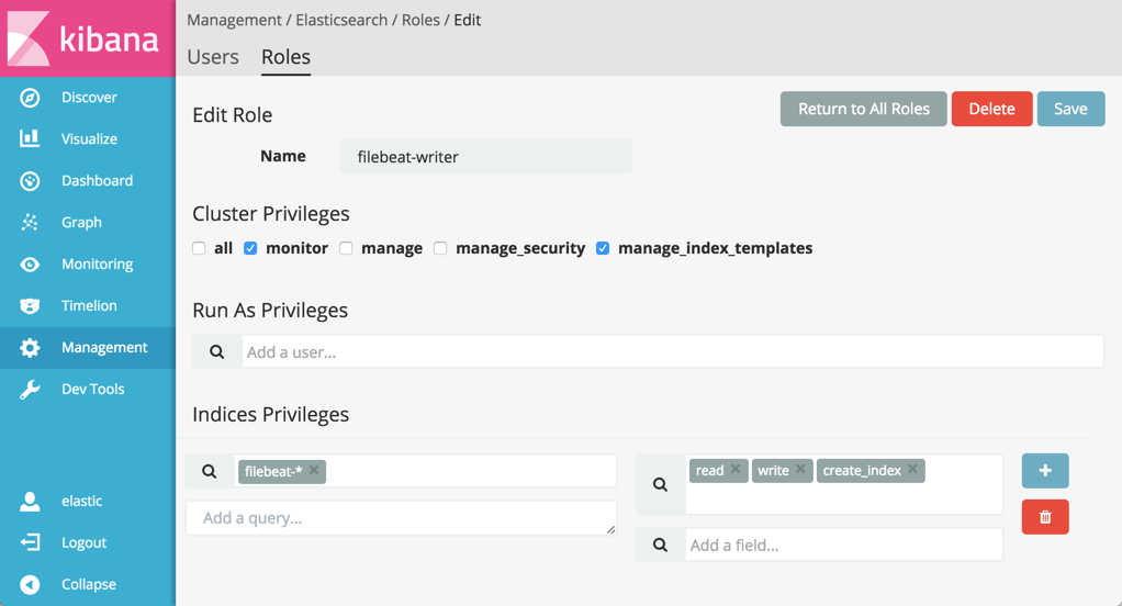 Manage Users and Roles in X-Pack | Elastic Cloud Enterprise