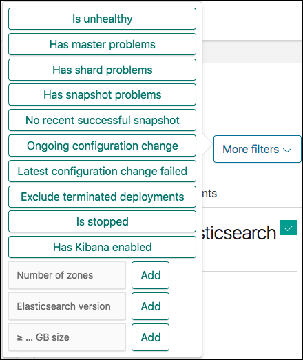 Finding deployments, finding problems | Elastic Cloud
