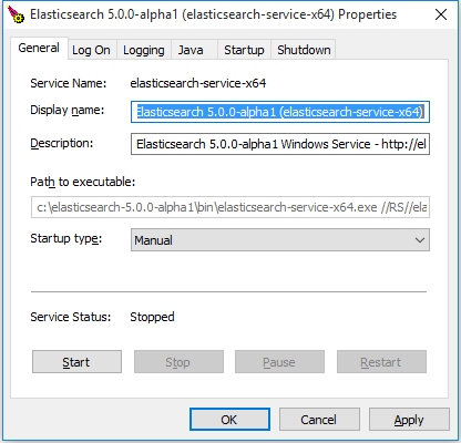 Install Elasticsearch with  zip on Windows | Elasticsearch Reference