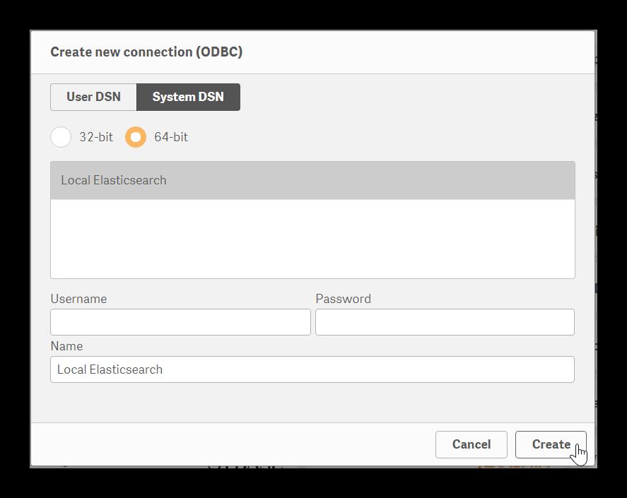 Qlik Sense Desktop | Elasticsearch Reference [6 7] | Elastic