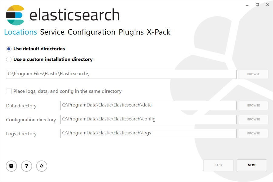 Install Elasticsearch with Windows MSI Installer
