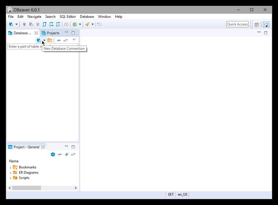DBeaver | Elasticsearch Reference [7 3] | Elastic