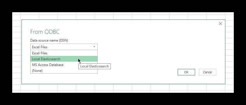 Microsoft Excel | Elasticsearch Reference [7 3] | Elastic