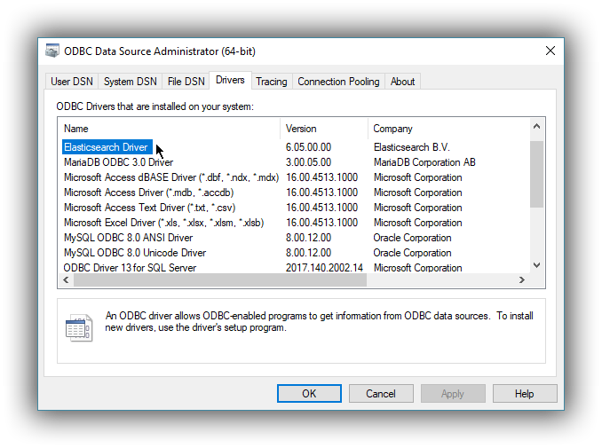 ASTER NCLUSTER ODBC DRIVER FOR MAC