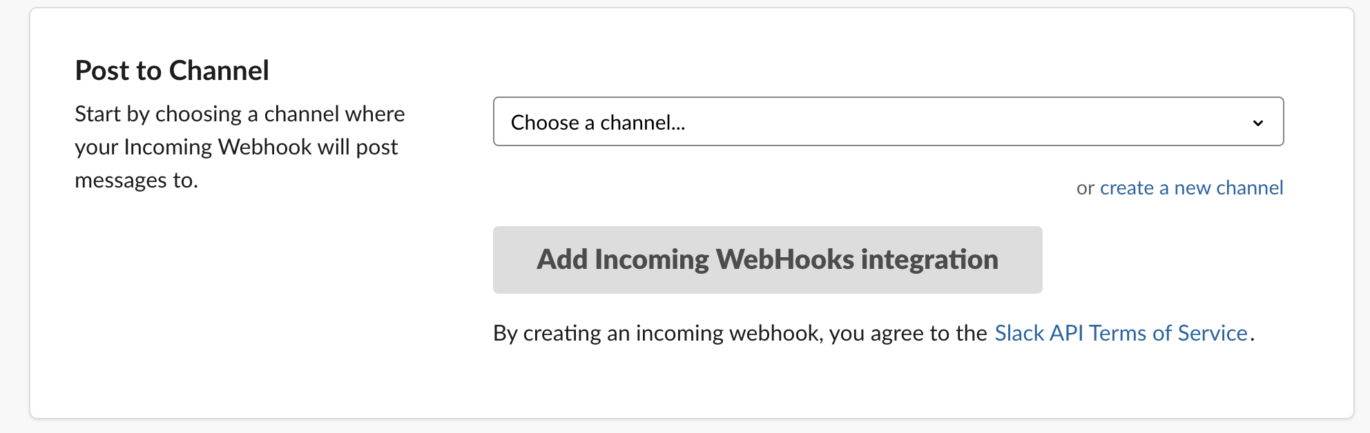 slack add webhook integration